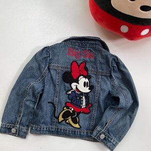 babyGap Disney Minnie Mouse Denim Icon Jacket